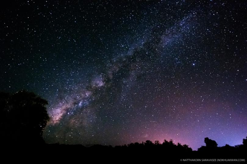 Milky Way, Ping Palee Resort, Kanchanaburi, Thailand. (Nikon D7100, 10-24mm, f/3.5, 30s, ISO3200)