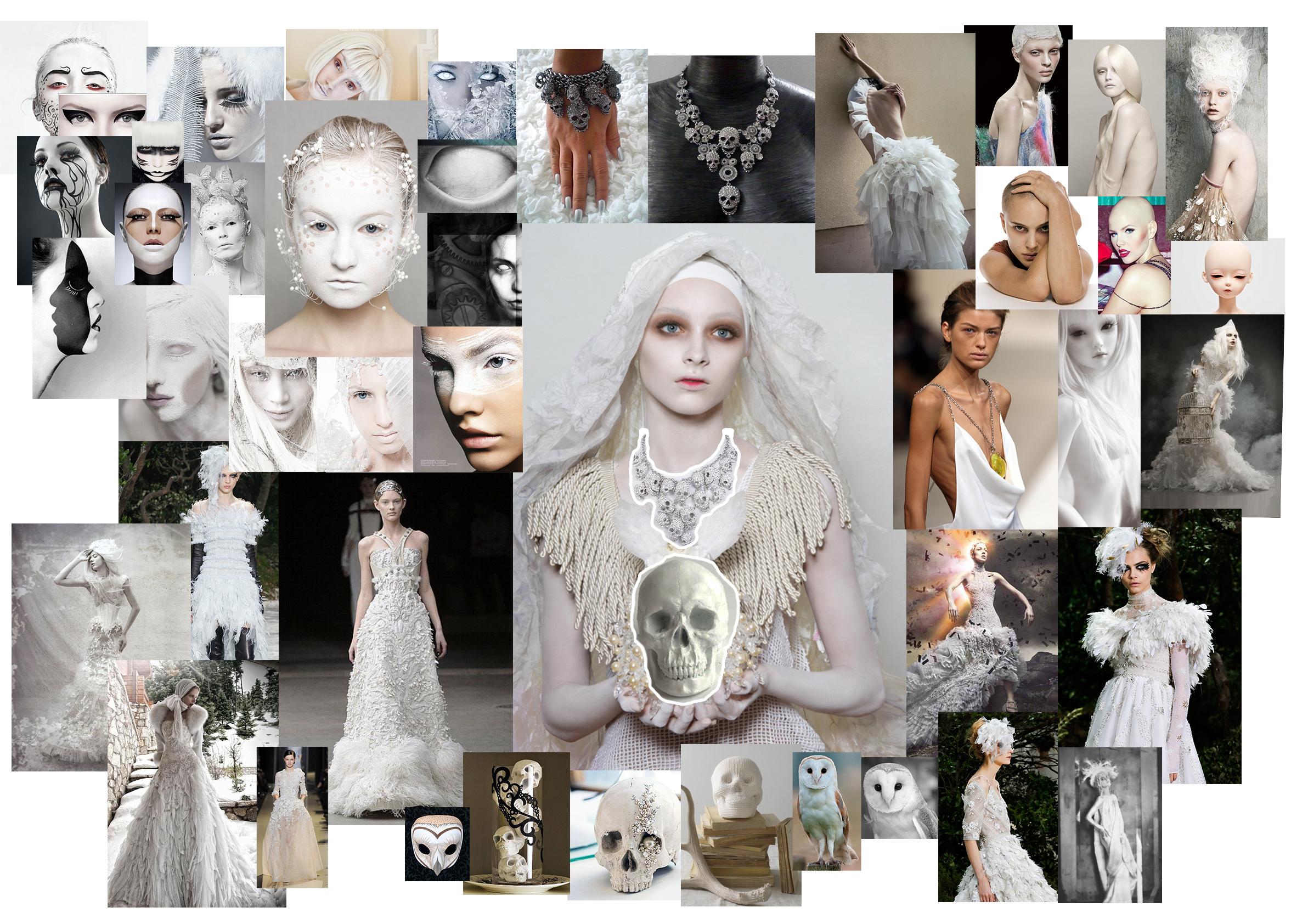 Creating a fashion mood board 97